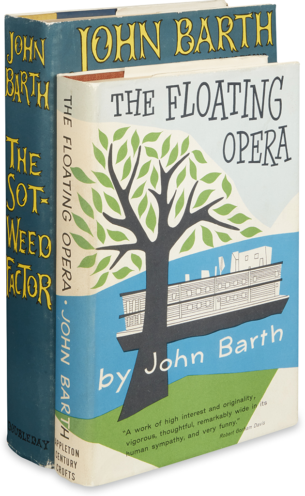 BARTH-JOHN-The-Floating-Opera--The-Sot-Weed-Factor