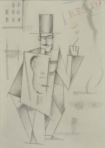 ROGER DE LA FRESNAYE Levolution de homme cubiste.