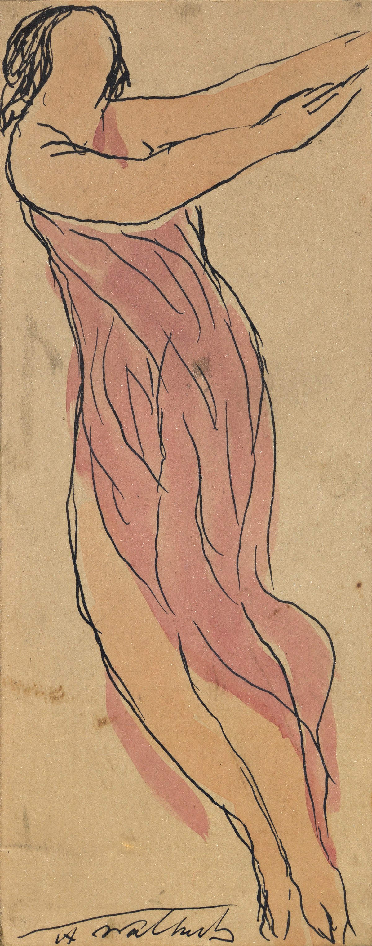 ABRAHAM WALKOWITZ (1878-1965) Isadora Duncan.