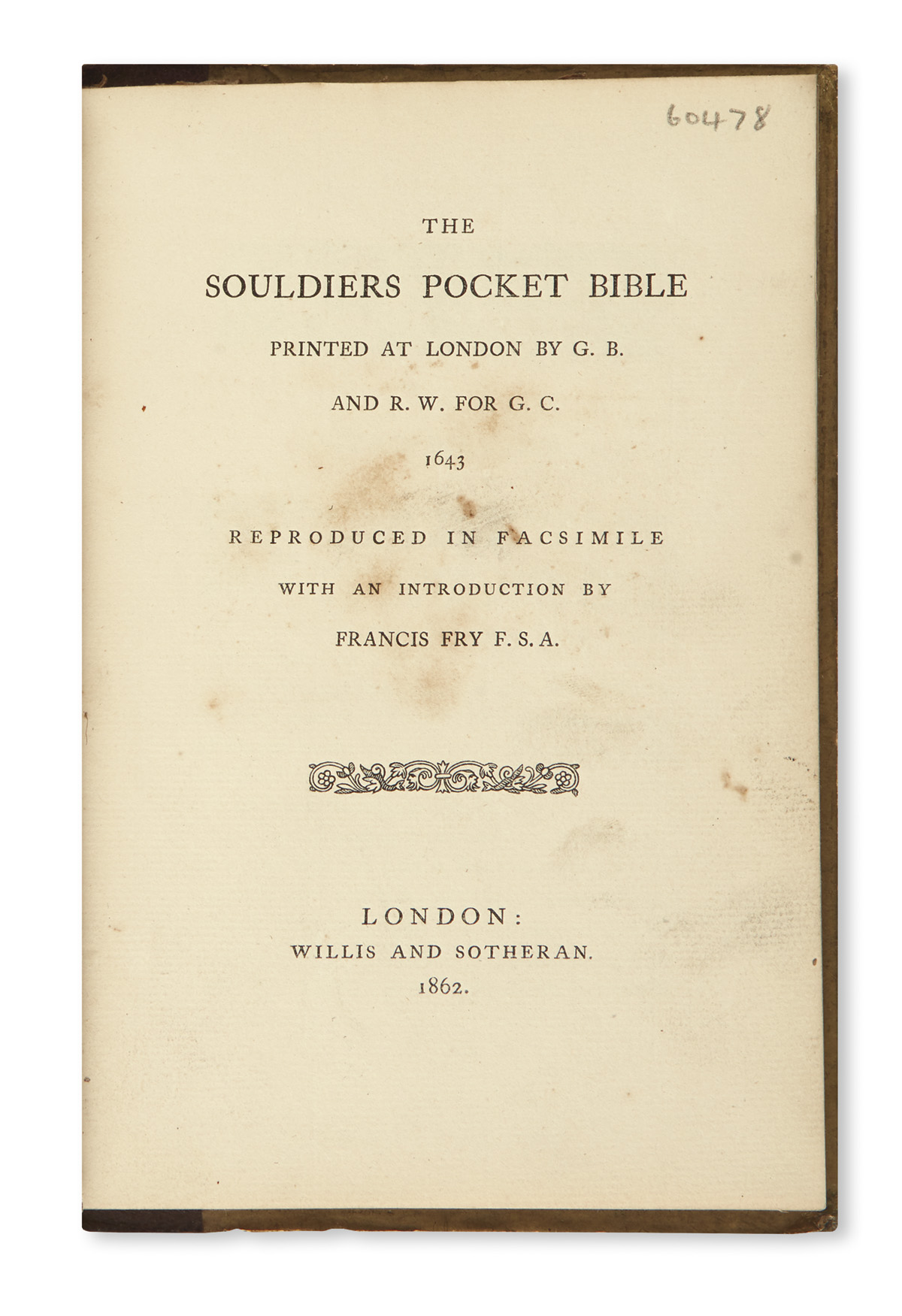 BIBLE-IN-ENGLISH--The-Souldiers-Pocket-Bible-printed-at-Lond
