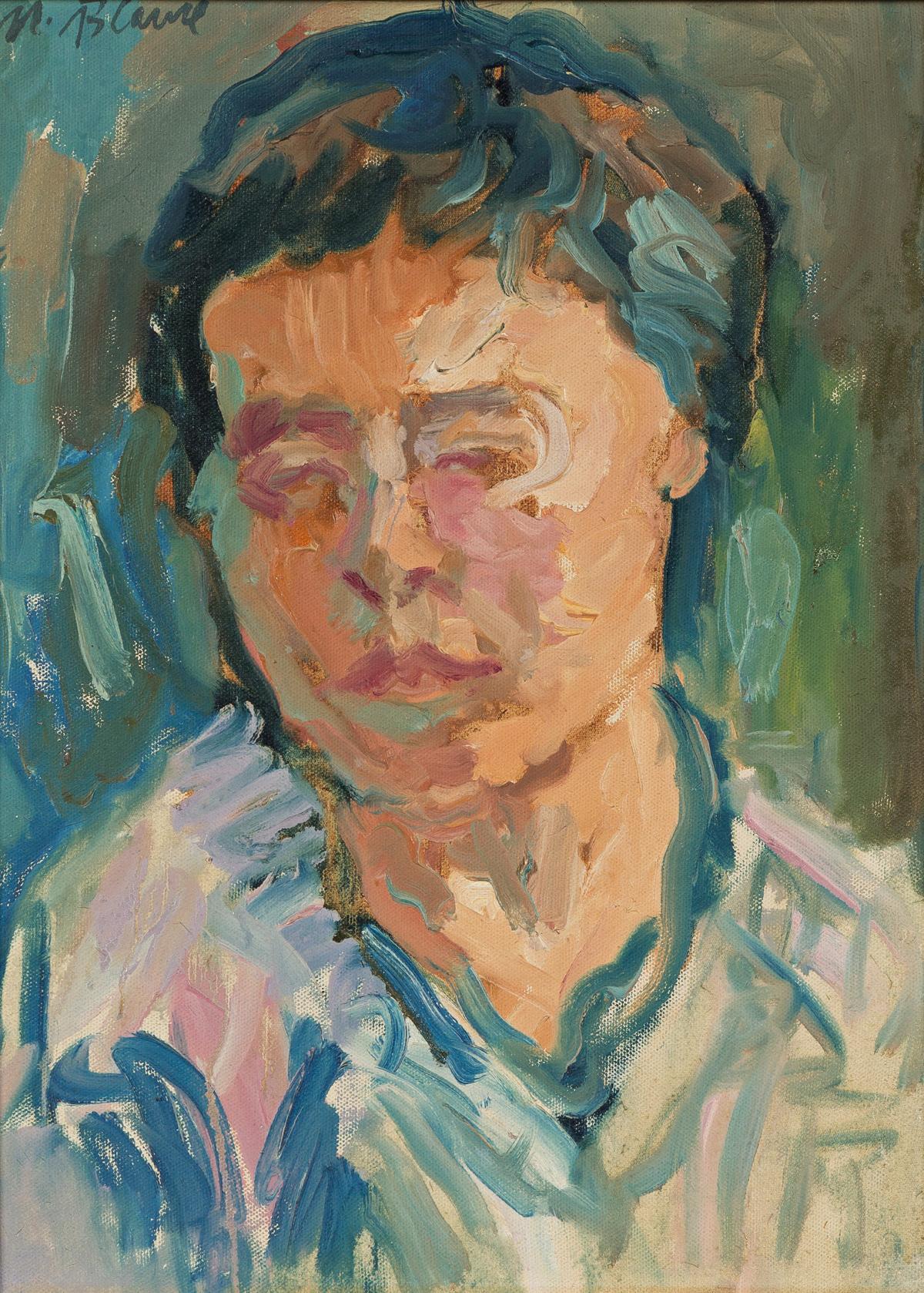 NELL BLAINE Portrait of Dilys Evans.