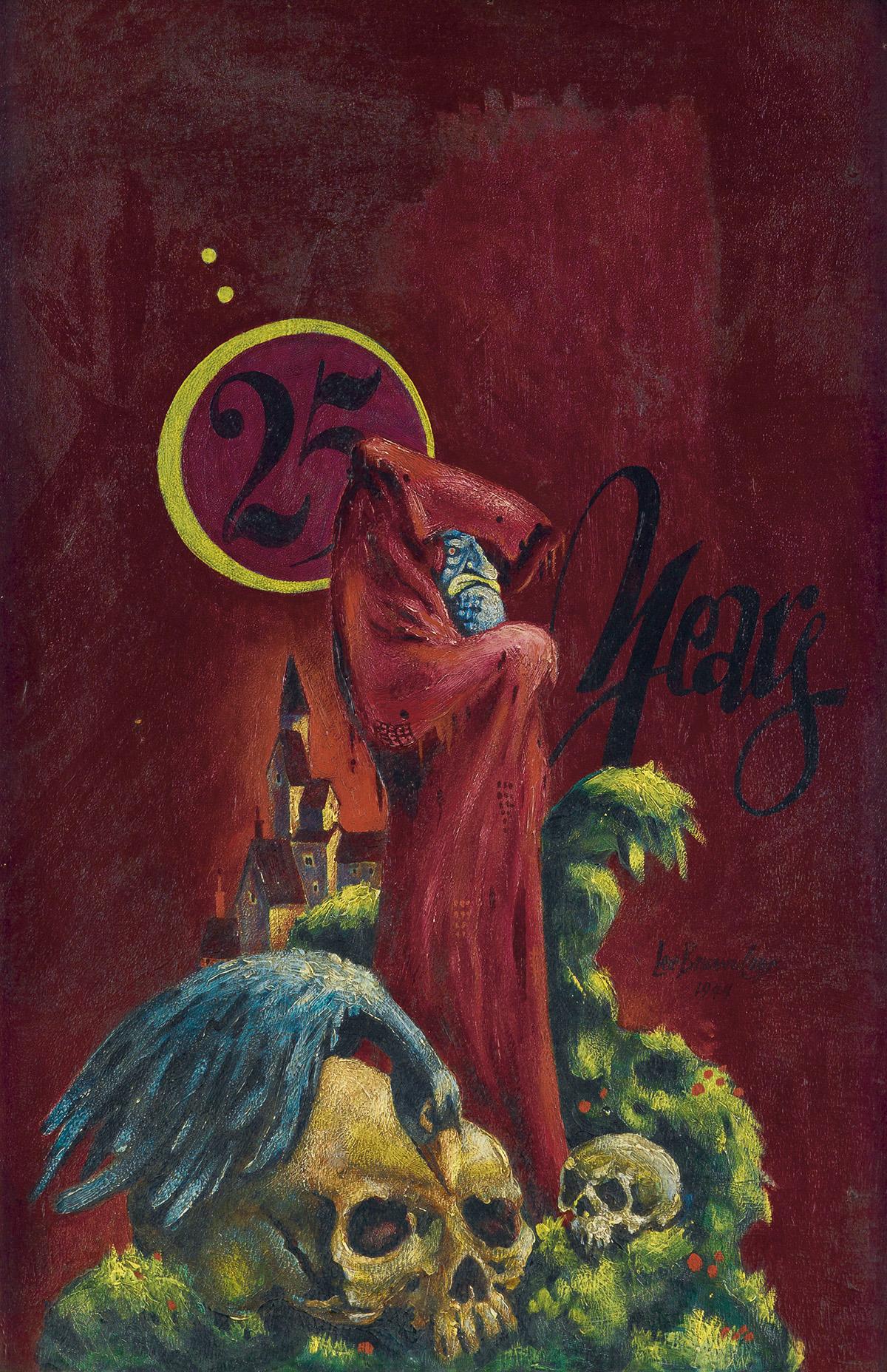 LEE BROWN COYE. (FANTASY / HORROR) Weird Tales Vol. 40, No. 3.