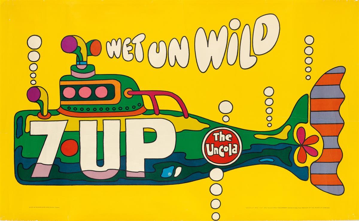 ED-GEORGE-(DATES-UNKNOWN)-7---UP-WET-UN-WILD-1970-35x58-inch