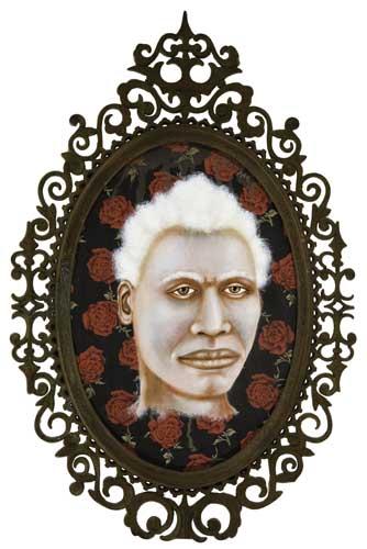 LEZLEY-SAAR-(1953----)-Albino-from-Kiémon-Côte-dIvoire