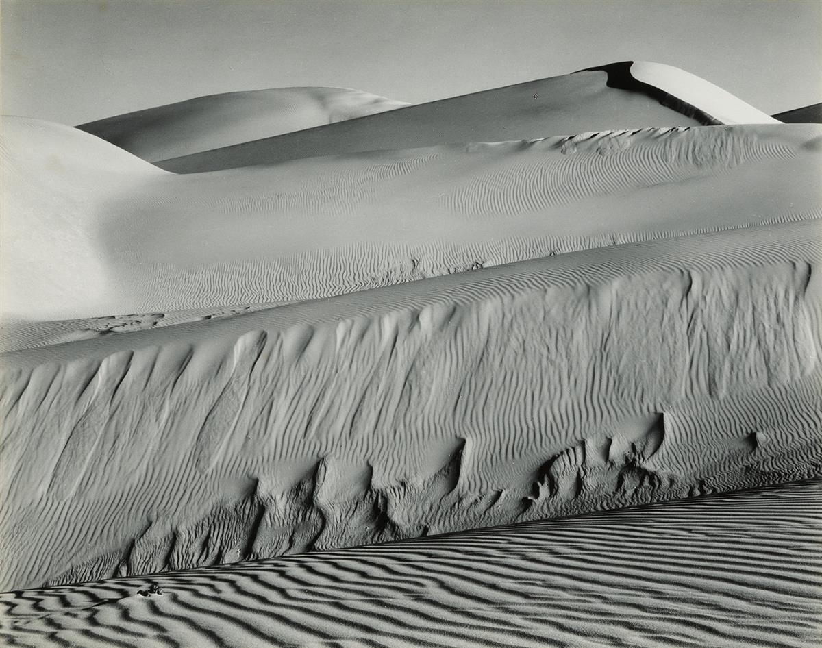 EDWARD WESTON (1886-1958)/BRETT WESTON (1911-1993) Dunes, Oceano.