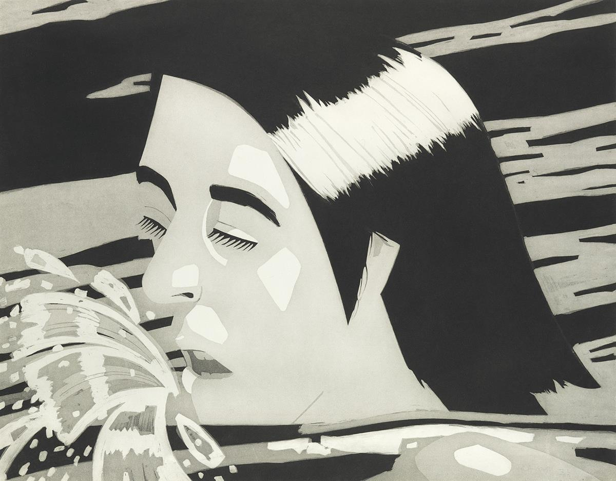 ALEX-KATZ-The-Swimmer