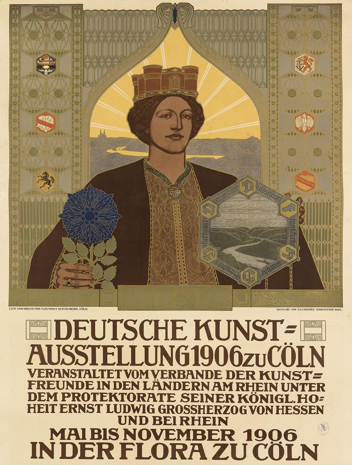 JOHANN-VINCENZ-CISSARZ-(1873-1942)-DEUTSCHE-KUNST--AUSSTELLU