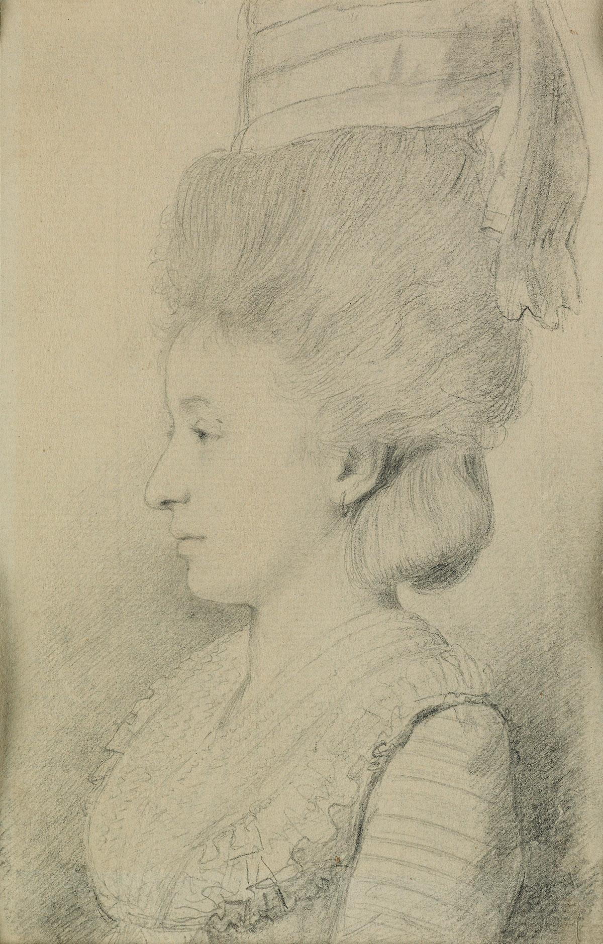 GEORGE-DANCE-II-(London-1741-1825-London)-Portrait-of-Mrs-Jo