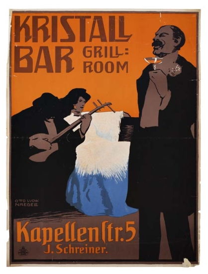OTTO-LUDWIG-NAEGELE-(1880-1952)-KRISTALL-BAR-Circa-1905-47x3