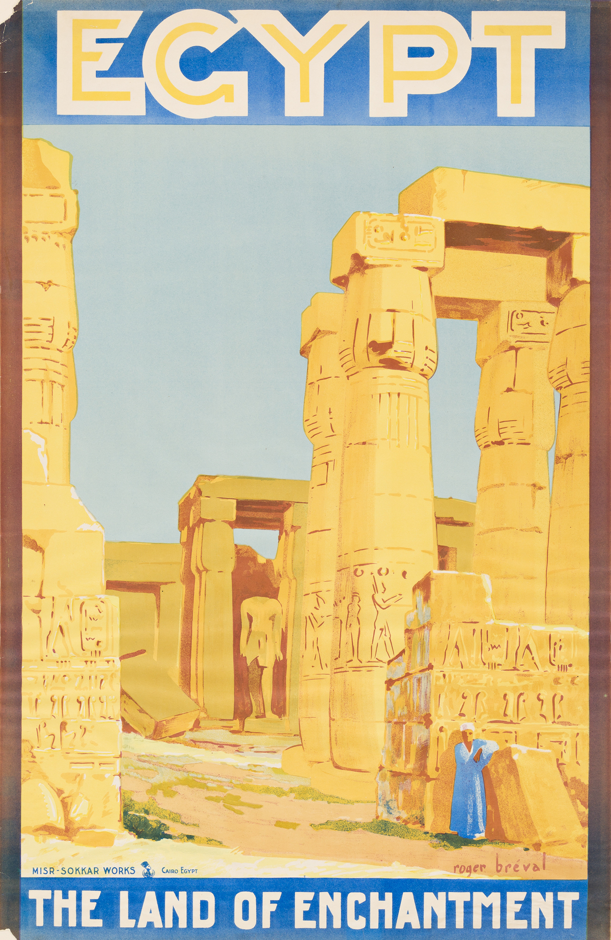 Roger-Bréval-(Dates-Unknown)--EGYPT--THE-LAND-OF-ENCHANTMENT