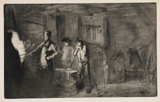 JAMES-A-M-WHISTLER-The-Forge