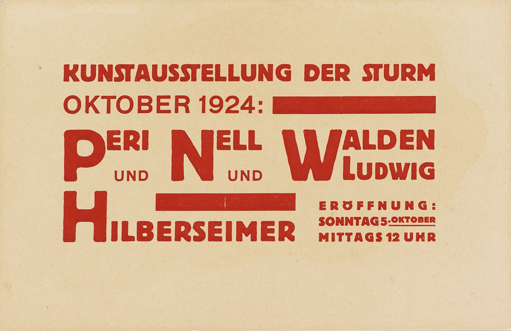 (DESIGN)-Moholy-Nagy-László-Group-of-5-postcards-for-exhibitions-at-Der-Sturm-gallery
