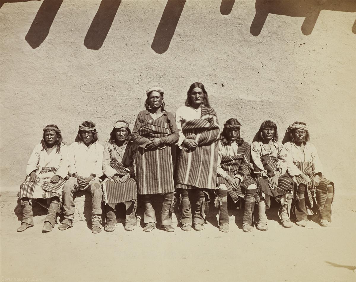 JOHN K. HILLERS (1843-1925) Governors of Zuni.