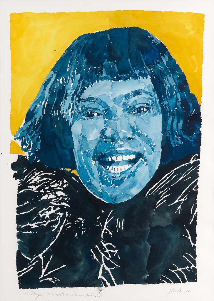 RICHARD YARDE (1939 - 2011) Untitled (Bessie Smith).
