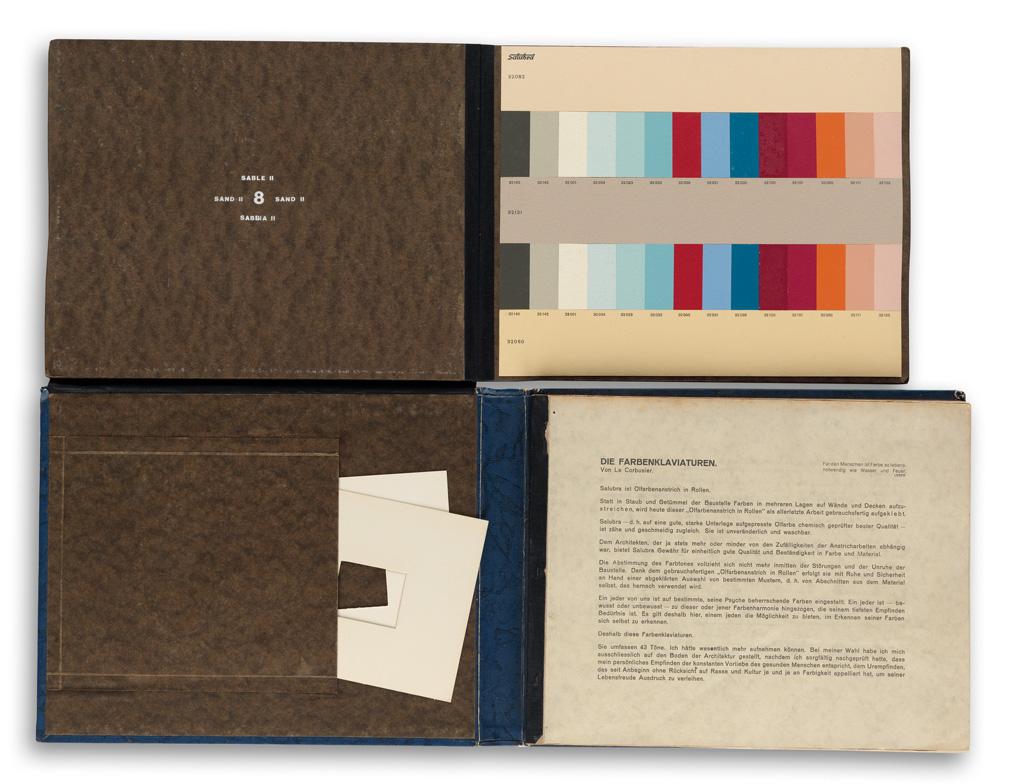 (DESIGN)-Le-Corbusier-(Charles-Édouard-Jeanneret)-Die-Farben