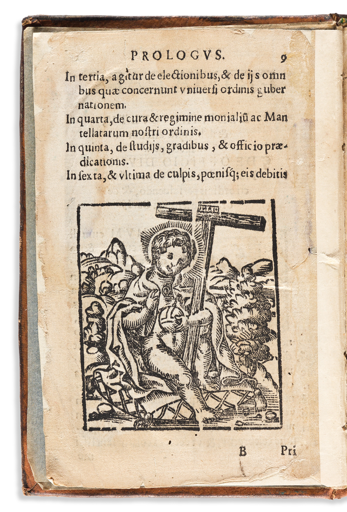 (MEXICAN IMPRINT--1587.) [Constitutiones Ordinis Fratrum Eremitarum Sancti Augustini.]