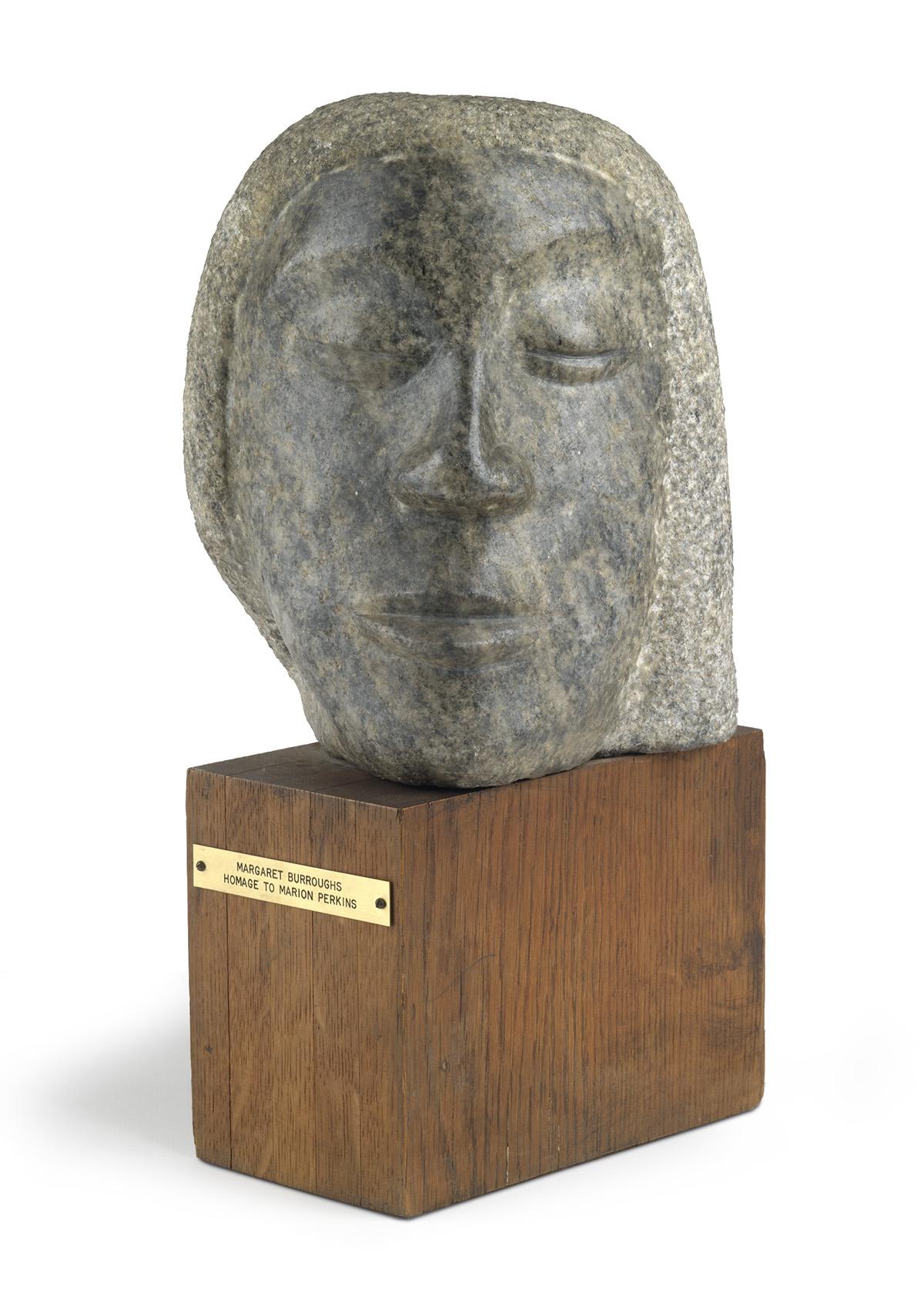 MARGARET BURROUGHS (1915 - 2010) Homage to Marion Perkins.