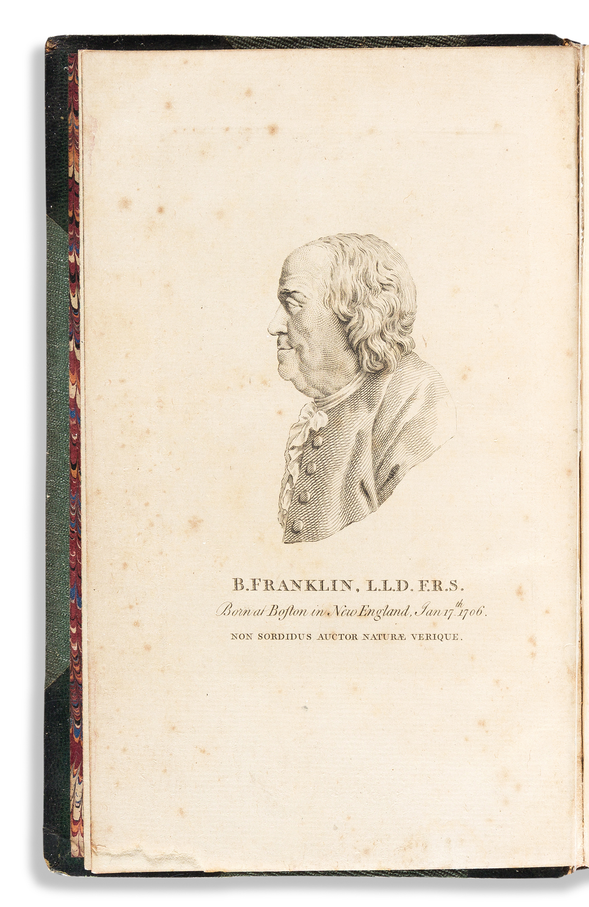 BENJAMIN FRANKLIN. Political, Miscellaneous, and Philosophical Pieces.