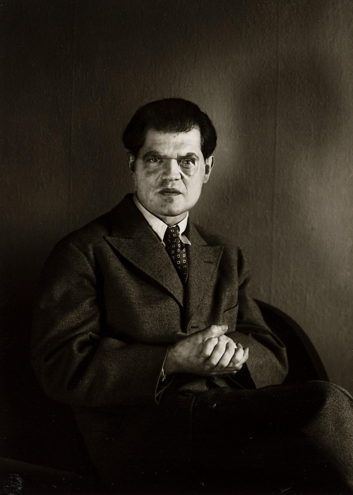 AUGUST SANDER (1876-1964)/GUNTHER SANDER (1907-1987) A portfolio titled Künstlerporträts von August Sander [Portraits of Artists Portfo