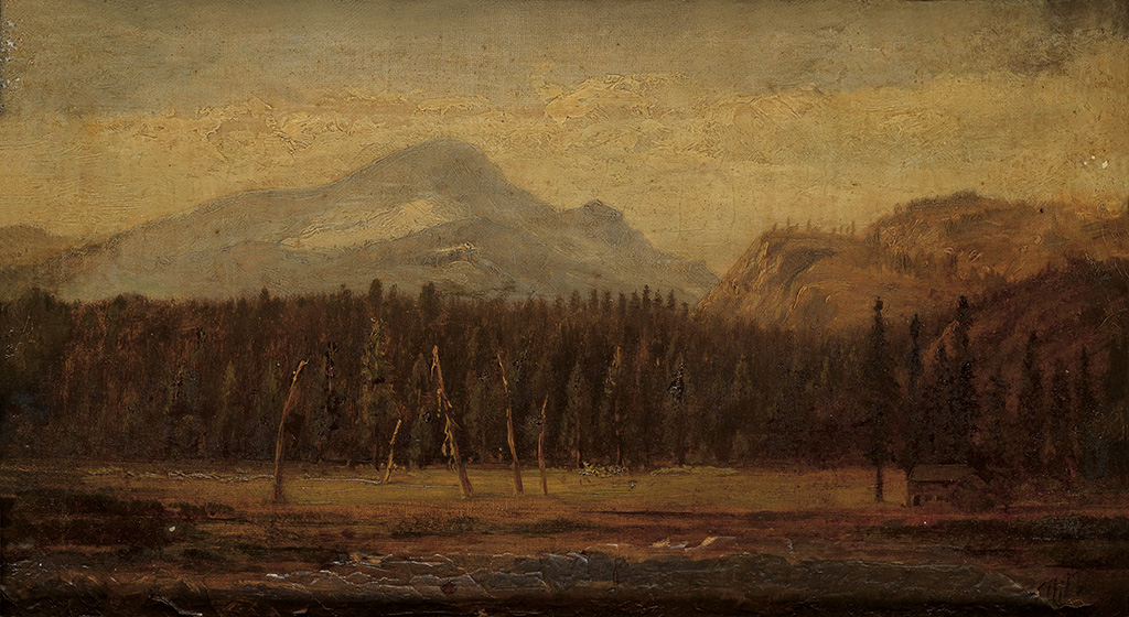 THOMAS-HILL-Landscape-with-a-Frontier-House