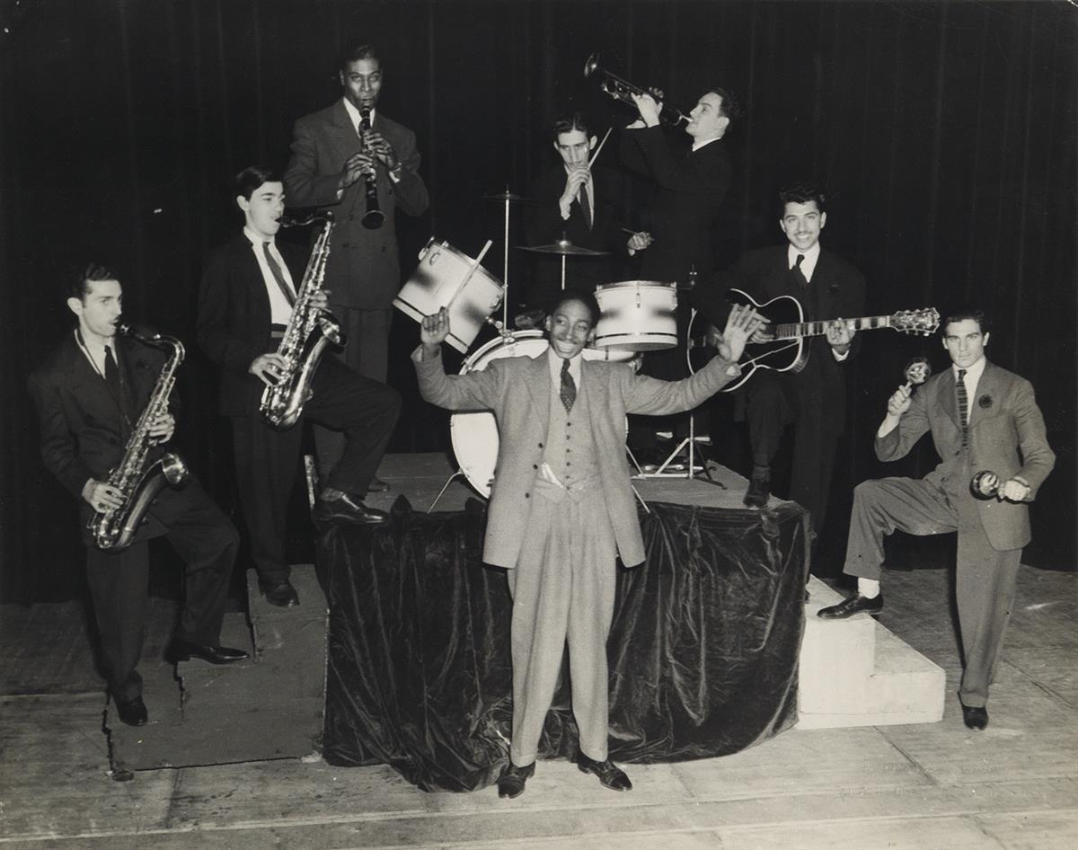 CHARLES-TEENIE-HARRIS-(1908-1998)-Jazz-Group-Pittsburgh