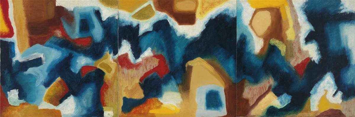 EVA HAMLIN MILLER (1911 - 1991) Sound into Sight - A Rhapsody.