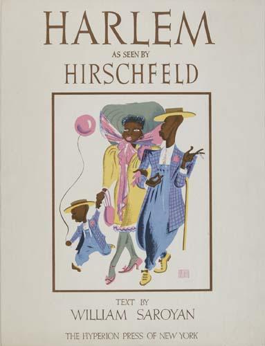 A BEAUTIFUL COPY Harlem As Seen By Hirschfeld.