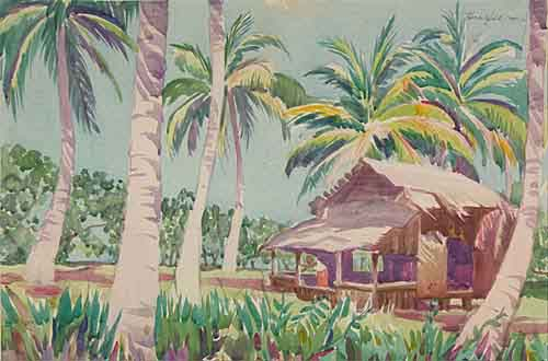 Tahiti Watercolor.