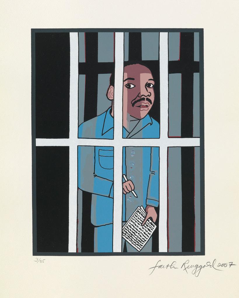 FAITH-RINGGOLD-(1930-----)-Letter-From-Birmingham-City-Jail
