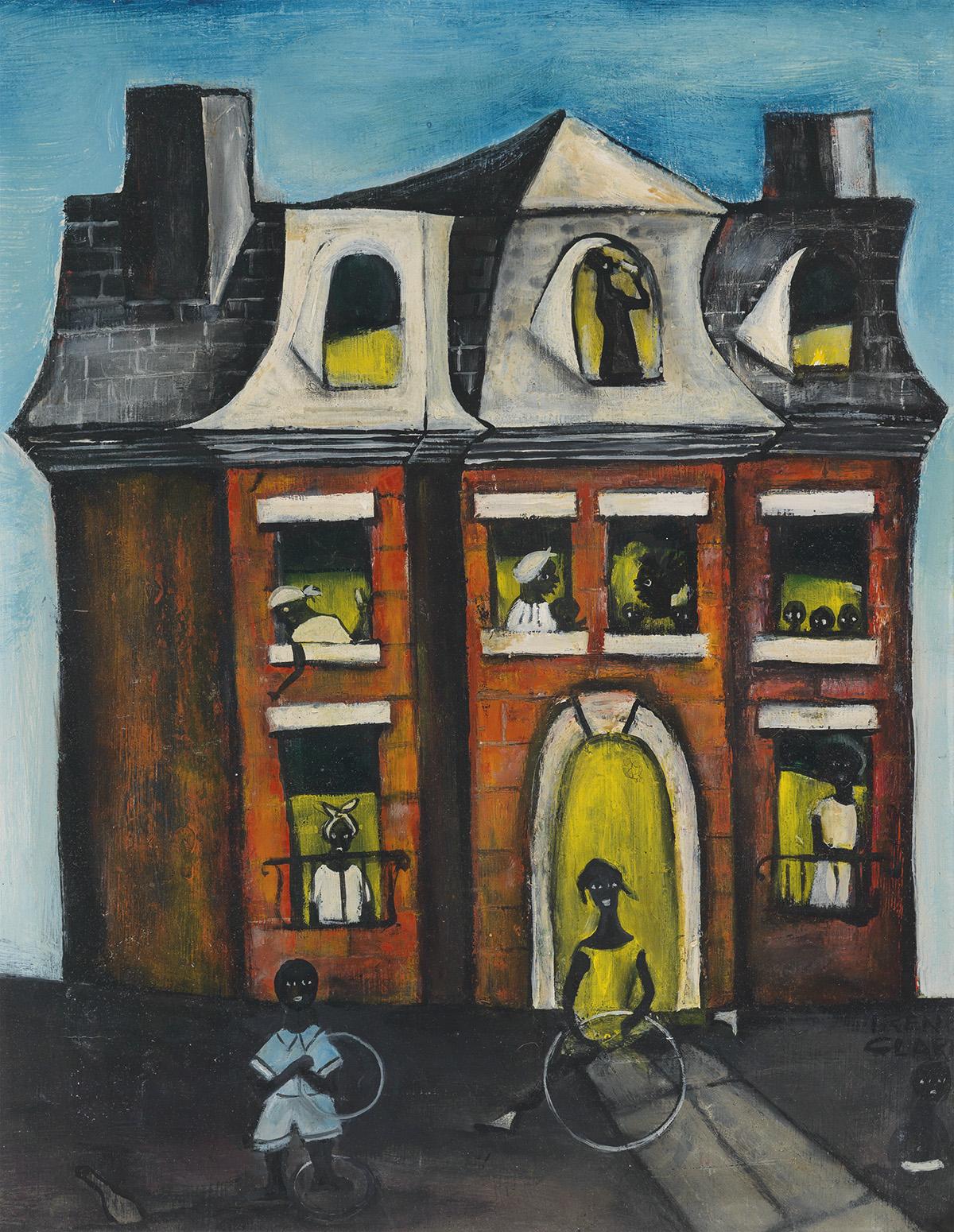 IRENE-V-CLARK-(1927---1984)-Mansion-on-Prairie-Avenue