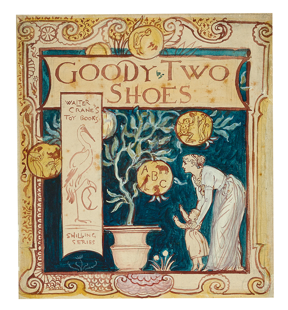 WALTER CRANE. Goody Two Shoes.
