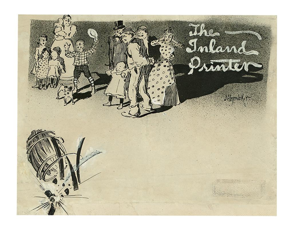 JOSEPH CHRISTIAN LEYENDECKER. The Inland Printer.