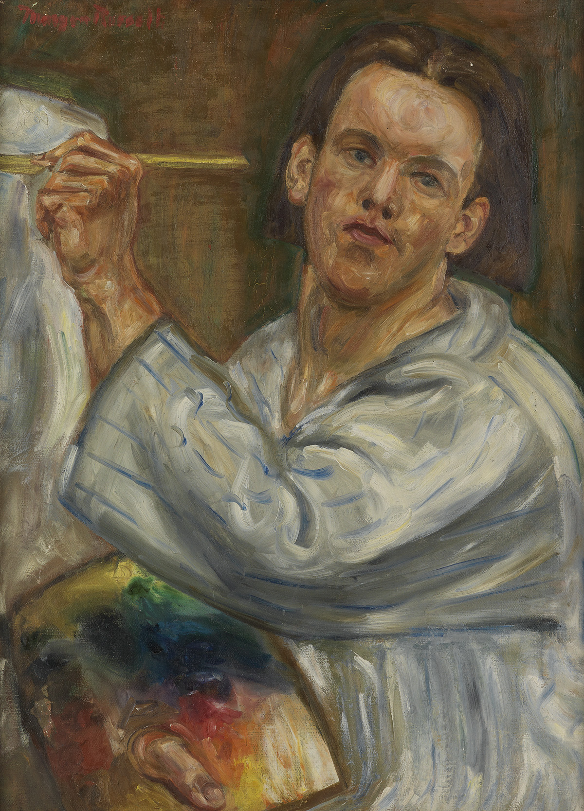 MORGAN-RUSSELL-Self-Portrait-at-the-Easel