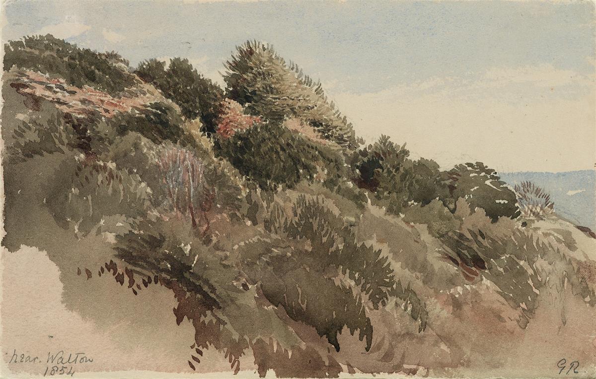 GEORGE-RICHMOND-(London-1809-1896-London)-Heathland-near-Wal