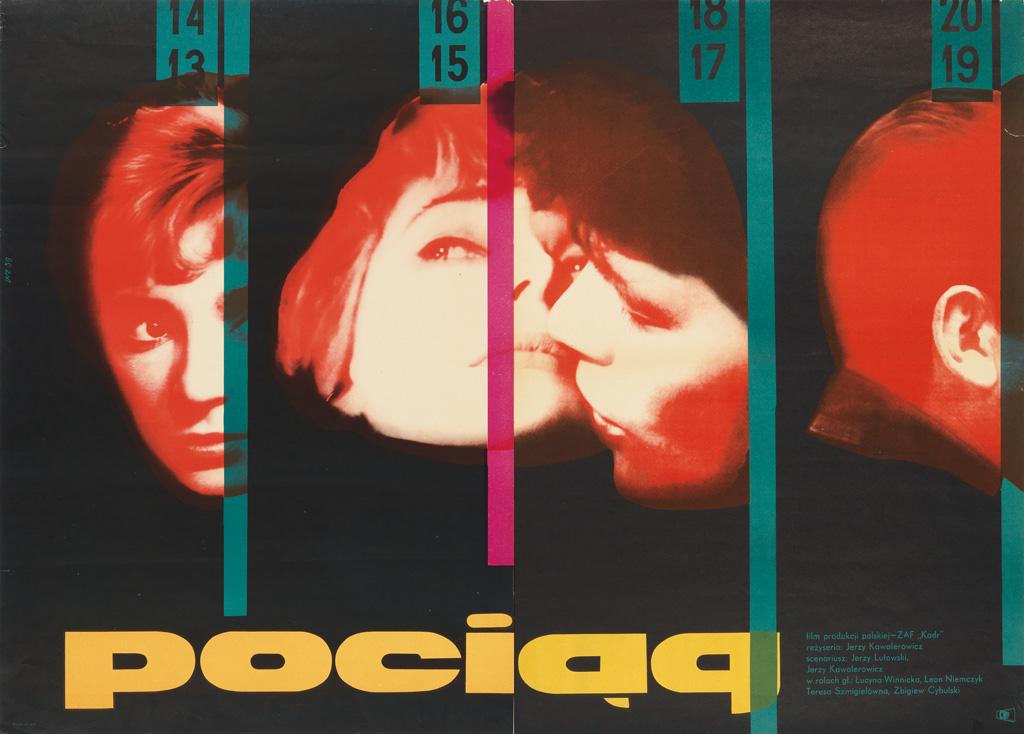 WOJCIECH-ZAMECZNIK-(1923-1967)-POCIAG-1959-46x33-inches-116x