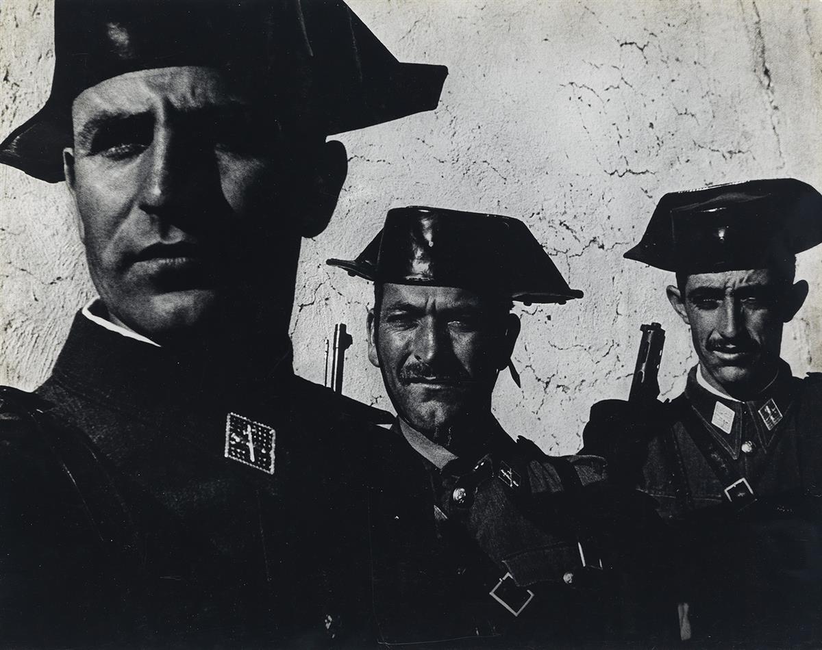 W. EUGENE SMITH (1918-1978) Guardia Civil, Spain.