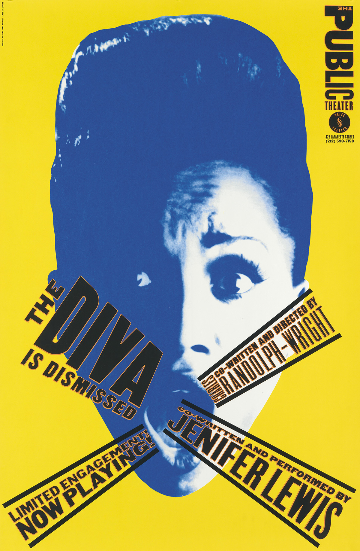 PAULA-SCHER-(1948--)-THE-PUBLIC-THEATER-Group-of-7-posters-C