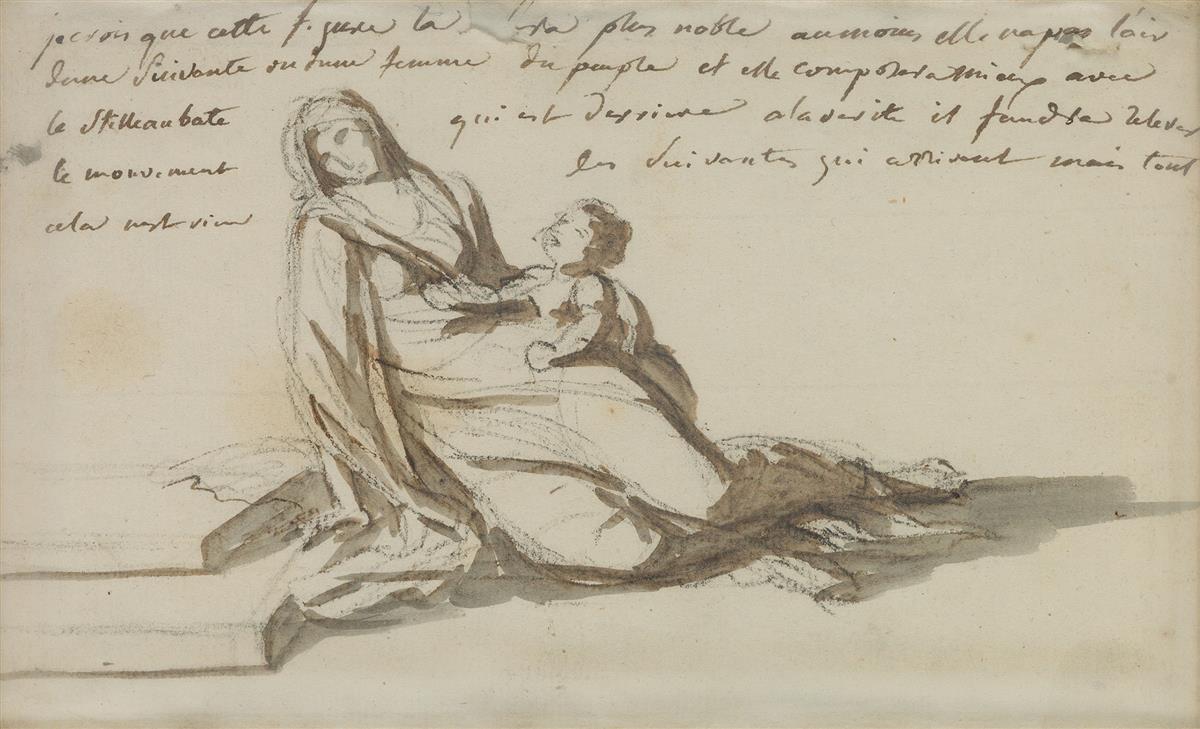 JACQUES-LOUIS-DAVID-(Paris-1748-1825-Brussels)-Mère-et-Enfan