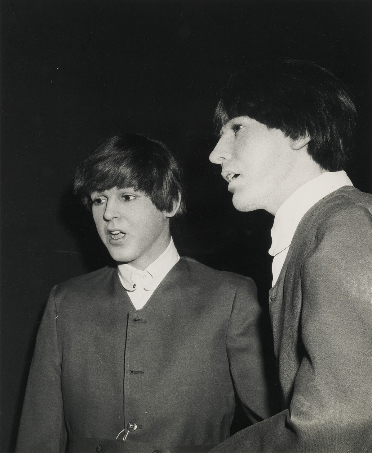 (MADAME-TUSSAUDS-WAX-MUSEUM--THE-BEATLES)-A-mini-archive-documenting-the-production-of-the-Beatles-exhibit-for-Madame-Tussauds-in-Holly