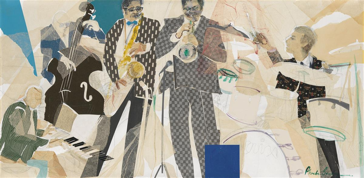 PHOEBE BEASLEY (1943 -   ) When Clifford Brown Came to Town.