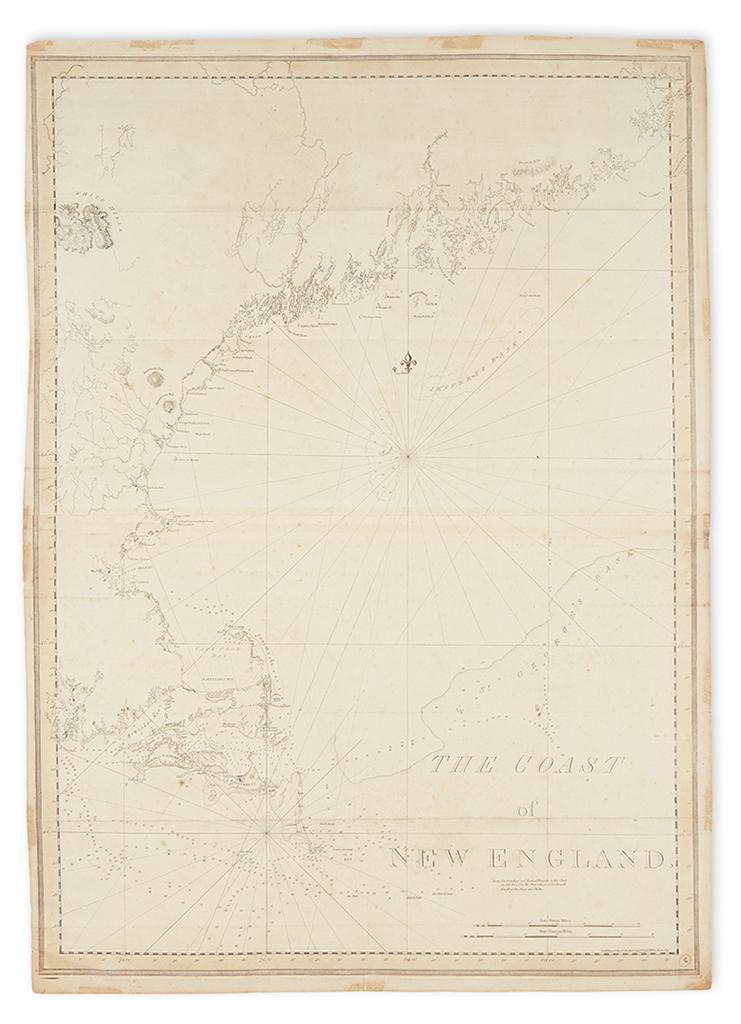 DES-BARRES-JOSEPH-FREDERICK-WALLET-The-Coast-of-New-England