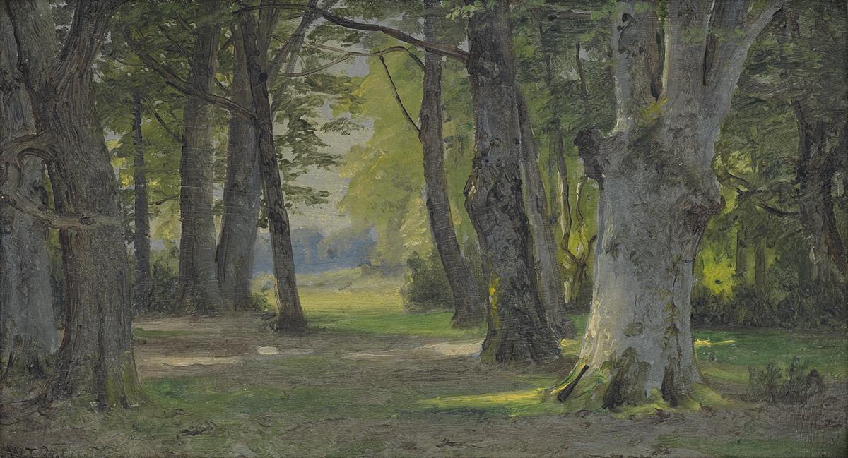 WILLIAM-TROST-RICHARDS-Two-landscape-oils
