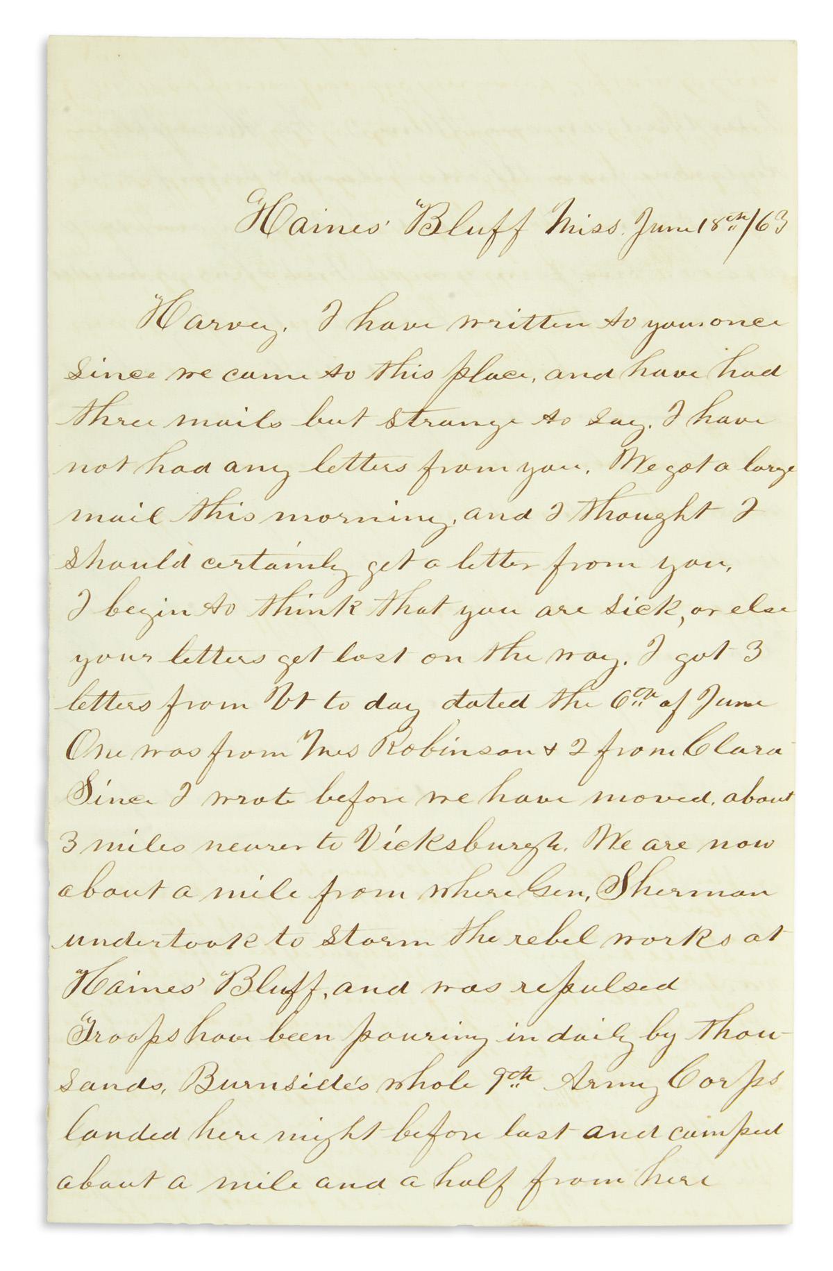 (CIVIL-WAR--MINNESOTA)-Brookins-George-W-Letters-by-a-soldie
