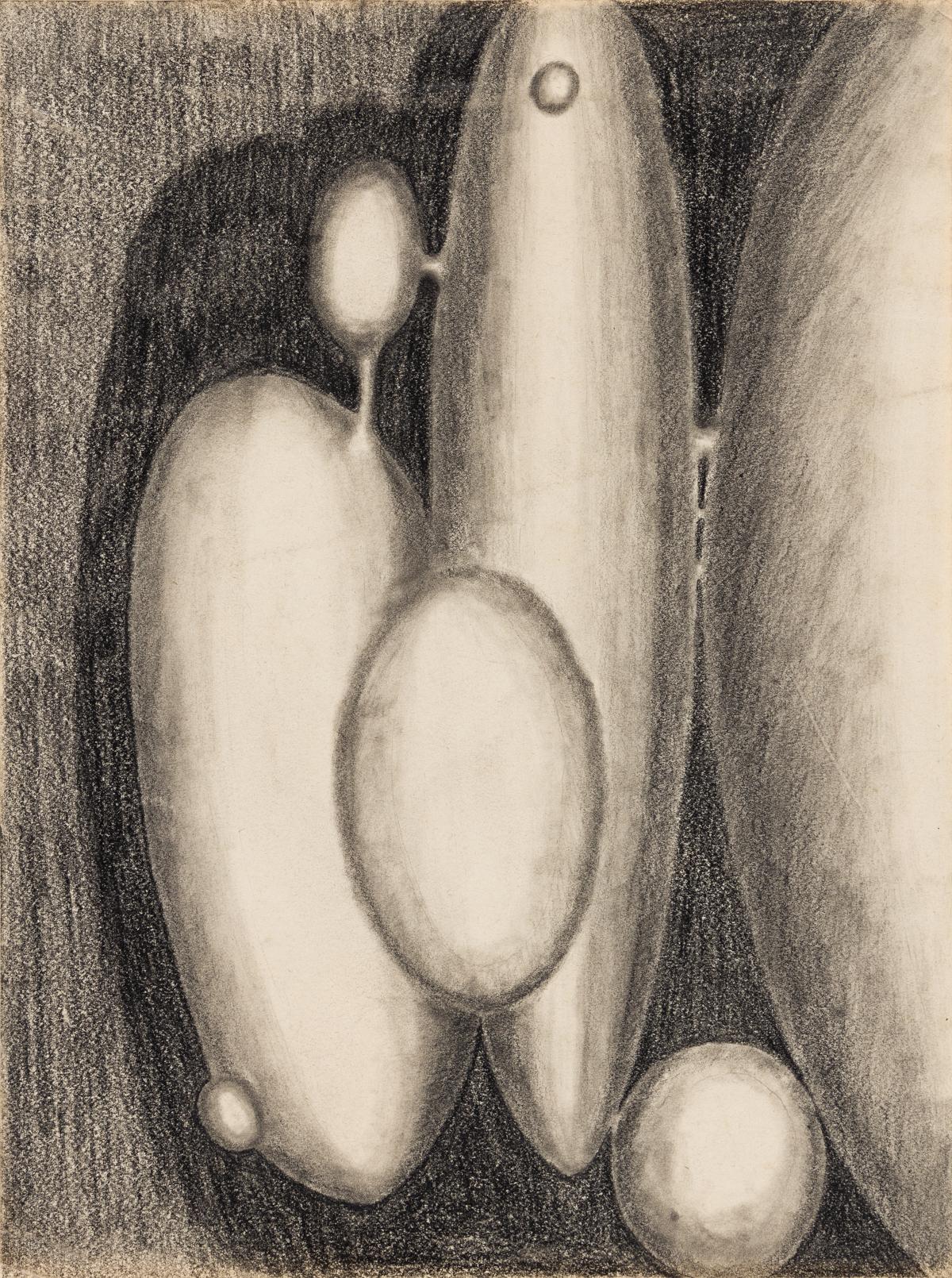EARL HOOKS (1927 - 2005) Study for Ceramic Sculpture.