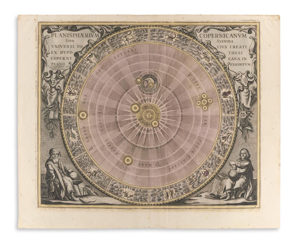 (CELESTIAL)-Cellarius-Andreas-Planisphaerium-Copernicanum