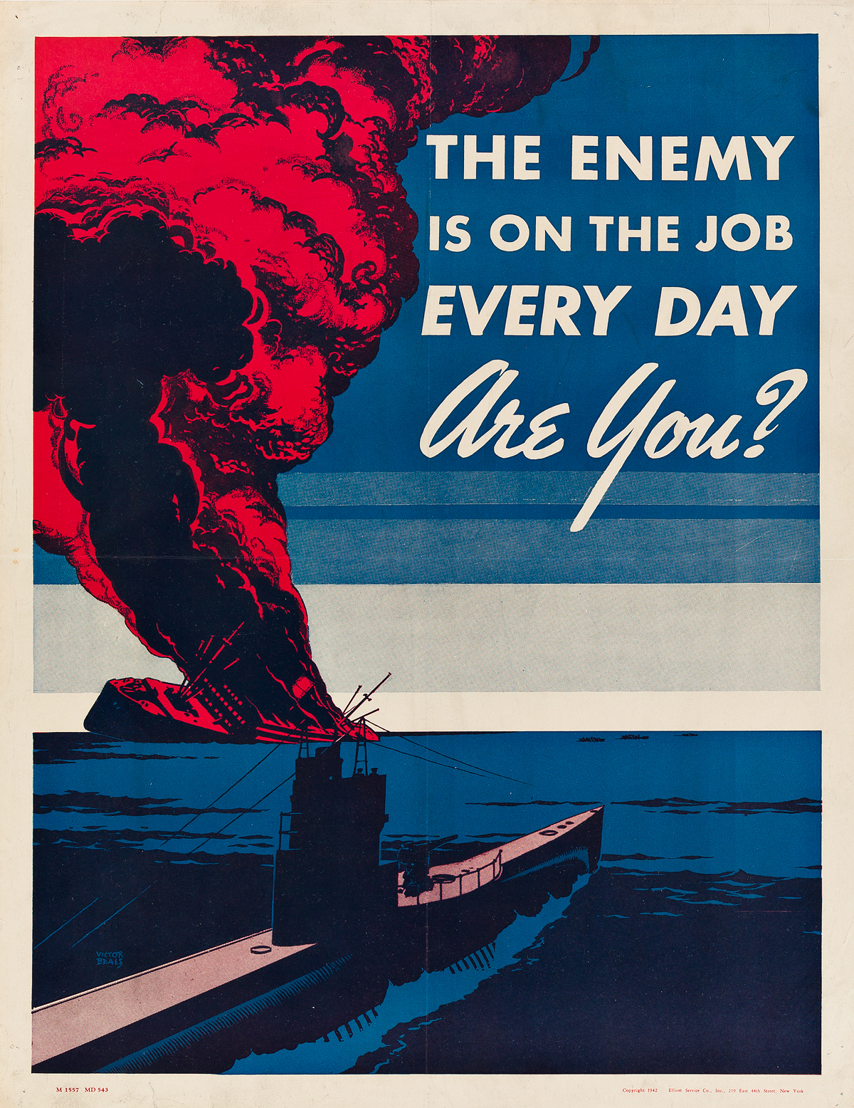 VARIOUS-ARTISTS-[WORLD-WAR-II--US--CANADA]-Group-of-16-small-format-posters-Circa-1940s-Sizes-vary