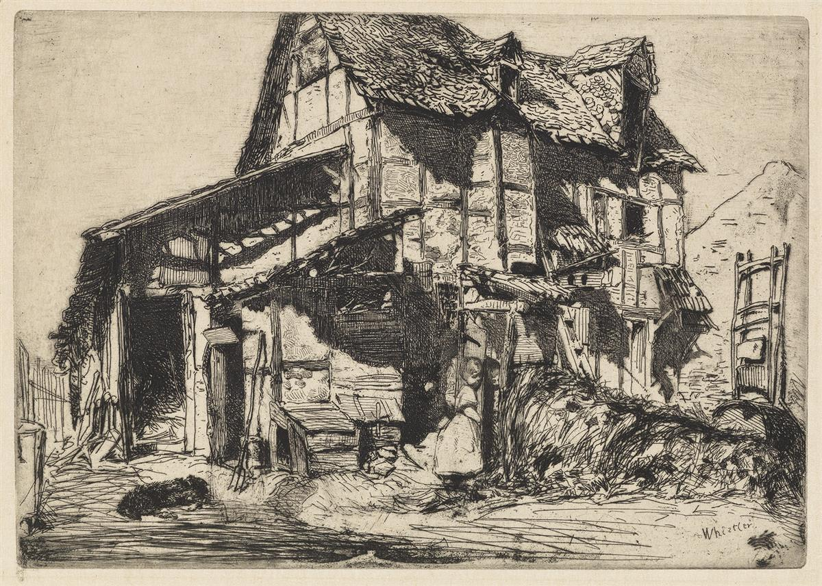 JAMES A. M. WHISTLER The Unsafe Tenement.
