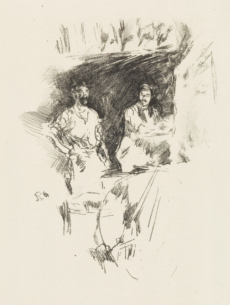 JAMES A. M. WHISTLER The Brothers.