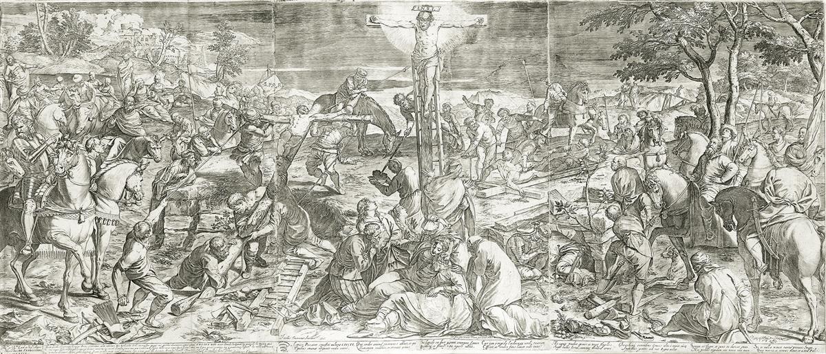 AGOSTINO-CARRACCI-The-Crucifixion