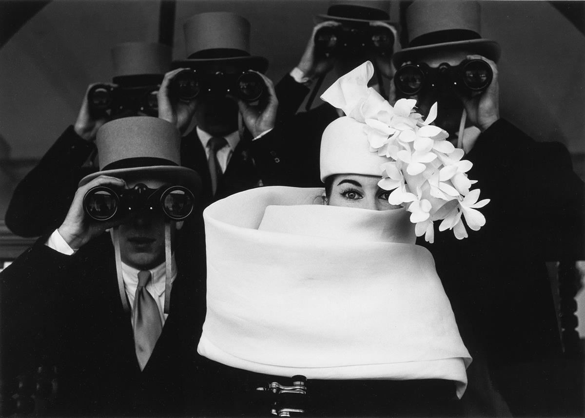FRANK HORVAT (1928- ) Givenchy Hat B.